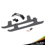 ALZRC - Devil 380 FAST Carbon Fiber Landing Skid Set - Black