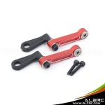 ALZRC - Devil 380 FAST Metal Radius Arm Set - Red