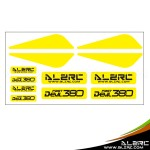 ALZRC - Devil 380 FAST Plastic Landing Skid Color Sticker - Yellow