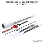 ALZRC - Devil 380 to 420 upgrade Kit Set