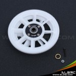 ALZRC - Devil 450 New 150T Straight Thread Main Drive Gear Set - White