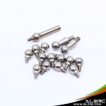 ALZRC - Devil 450 Pro Stainless Steel Linkage Ball Set