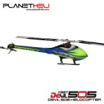 ALZRC - Devil 505 FAST FBL KIT - Silver-Upgrade Canopy Version QQ
