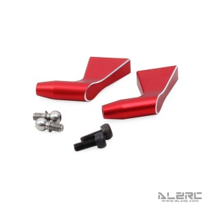 ALZRC - Devil 505 FAST Metal Main Rotor Holder Arm Set - Red