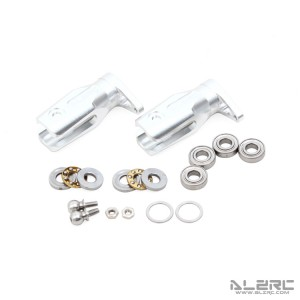 ALZRC - Devil 505 FAST Metal Tail Rotor Holder Set - Silver