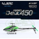 ALZRC - Devil 450 RIGID SDC/DFC KIT - Black - 2014