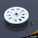 ALZRC - Devil 450 New 121T Slant Thread Main Drive Gear Set - White