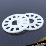 ALZRC - Devil 500 Pro 134T Slant Thread Main Drive Gear - White