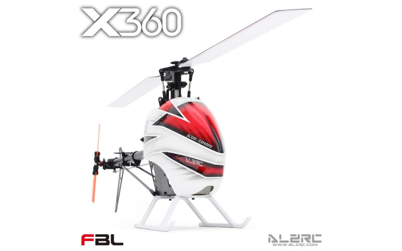 ALZRC - Devil X360 FBL KIT RC Helicopter