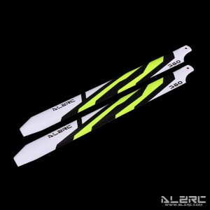 ALZRC - Carbon Fiber Blades - 360mm - Painting - Yellow