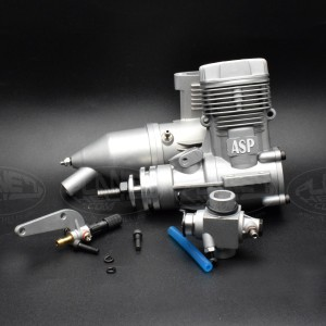 ASP 2 Stroke S46AII Nitro Engine for RC Airplane