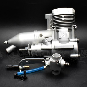 ASP 2 Stroke S61AII Nitro Engine for RC Airplane