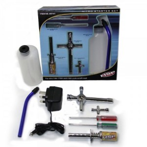 HSP Nitro Starter Tool Kit Set Fuel Igniter RC Engines