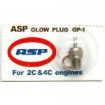 ASP Glow Plug GP-1 for both 2 Strokes and 4 Strokes Nitro Engine