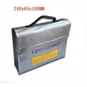 Li-Po Battery Safe Guard and Charge Sack size 240*65*180mm