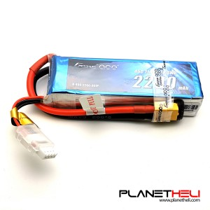 Gens ace 2200mAh 11.1V 45C 3S1P Lipo Battery Pack XT60