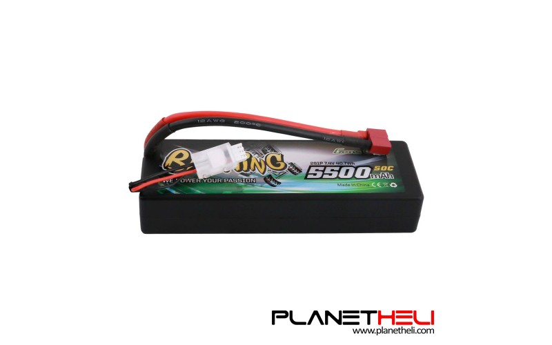 Gens ace Bashing Series 5500mAh 7.4V 2S1P 50C car Lipo Battery Pack Hardcase 24# with T Plug