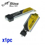 Tattu 220mah 1s 45C-90C 1.25 molex Lipo Battery Eflite stock connector