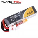 Tattu 450mAh 11.1V 75C 3S1P Lipo Battery Pack with XT30 plug - Long Size