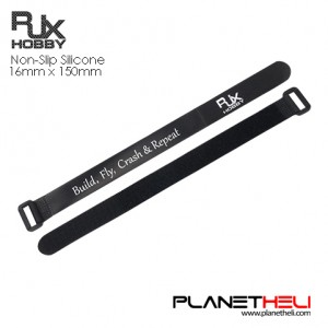 RJX HOBBY Non-Slip Silicone Battery Straps – 2 Pcs / PACK (Width: 16mm Length: 150mm )