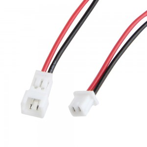 Micro JST PH 1.25 2 PIN Male Female Plug Connector With Wire Cables 100mm