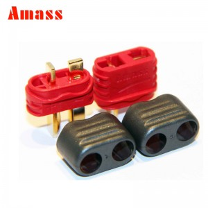T Plug Connector With Sheath Housing Male & Female Amass