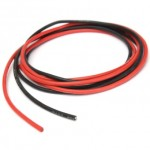 Silicone Wire 10 Gauge Red 50cm & Black 50cm