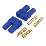 EC2 2.0mm Lipo Battery Connector Gold Bullet Plug