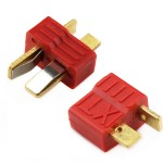 T-type gold-plated plug male female