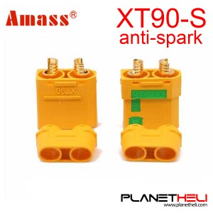 Amass Connector XT90S XT90-S Anti Spark Plugs Male Female Battery Connector