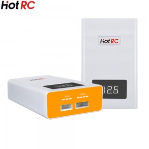 HotRC A400 3S/4S 3000mah Digital Lipo Charger Battery Balance Charger with LED Screen Fast Charge Discharger