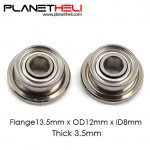 Nichi Quality Bearing - (Φ12xΦ8x3.5mm) Suit for Heli 380 Main Pulley Case