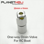 One-way Drain Valve for RC Boat Size 80-200cm