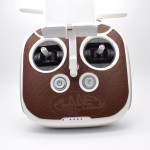 2016 New Remote Controller Stickers Decals Skin Leather Stickers Case for Phantom 4/3 Inspire
