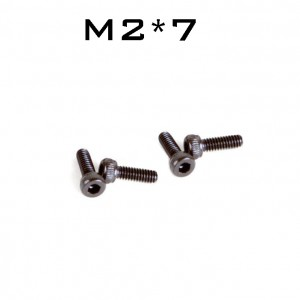 Prop Screw For 1105 1104 1103 Mini Quad Motor For Flyegg Lizard95 M2*7