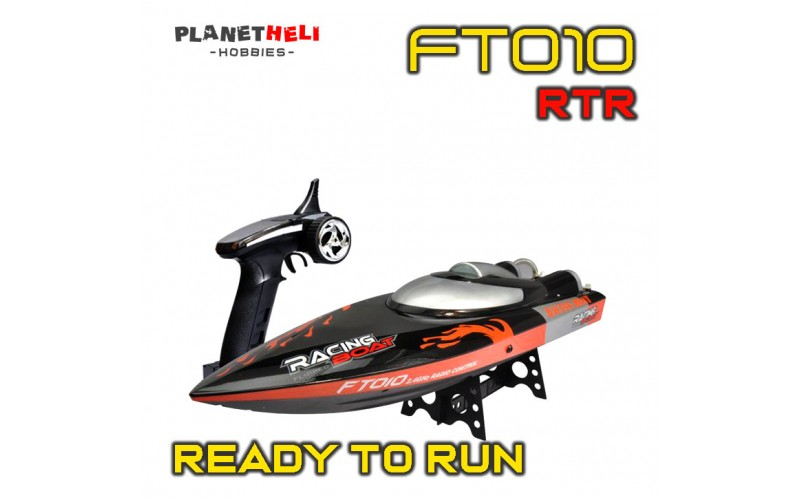 FeiLun FT010 2.4GHz RC Racing Boat with double protection case water resistant (RTR)