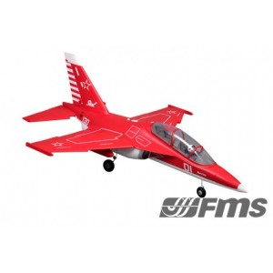FMS 70MM Yak 130 High Performance RED KIT with retract gear x 3 (8kg 12)