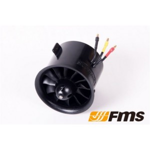 FMS 70mm Ducted fan (12-blades)  NO MOTOR INCLUDE
