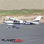 FMS 1010mm Blue Cessna 182 Sky Trainer V2 RC Plane PNP