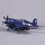 FMS 800mm F4U(V2) Blue KIT RC Plane