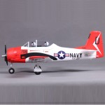 FMS 800mm T28 V2-Red KIT RC Plane (5Kg 7)