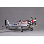 FMS 800mm P51(V2) Big Beautiful Doll RC Airplane RTF Version with Flysky FS-i4