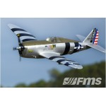 FMS RC Airplane Scale 1500mm P-47 Razorback PNP (27 25kg)