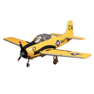 FMS 1400MM T-28D V4 Trojan Yellow RC Airplane PNP Version (22 20Kg)