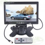 7in High Resolution 800*480 High Resolution LCD Snow Screen with Audio