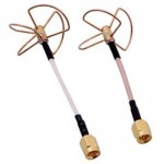 5.8G Three/ Four-leaf Clover OMNI Gain Antenna for Photography Transmission- without shell