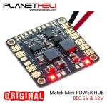 Matek Mini Power Hub Power Distribution Board With BEC 5V And 12V for RC Drone FPV Racing