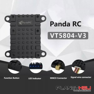 PandaRC VT5804 V3 25mW/200mW/400mW/ 800mW/ 1000mW Switchable Video Transmitter