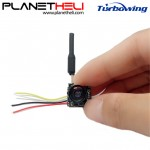 Turbowing 5.8G 48CH 25mw Transmitter 700TVL 1/4 CMOS Wide Angle FPV Camera Support OSD NTSC
