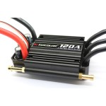 Flycolor 120A Brushless ESC Speed Control Support 2-6S Lipo BEC 5.5V/5A for RC Boat